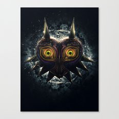 Epic Pure Evil of Majora's Mask Canvas Print