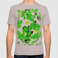 Floral Easter Egg Mens Fitted Tee Cinder SMALL