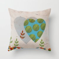 Design 5 Throw Pillow
