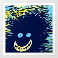 monster Art Prints featuring Monster by Take Five