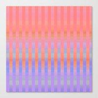 Oh So Stripy Canvas Print