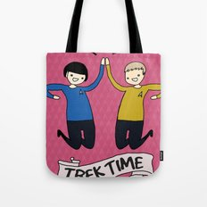 Trek Time Tote Bag