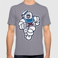 Marshmelin Man Mens Fitted Tee Slate SMALL