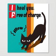 I Heal You Canvas Print