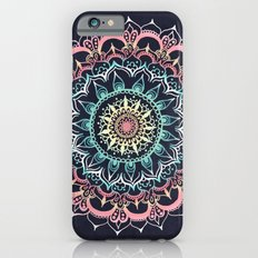 Pink, Cream & Soft Turqu… iPhone 6 Slim Case