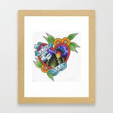 x-files Framed Art Print