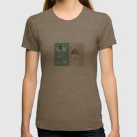 Always trust the weather Womens Fitted Tee Tri-Coffee SMALL