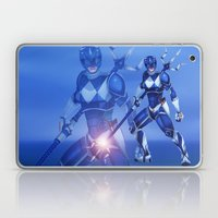 Blue Ranger Laptop & iPad Skin