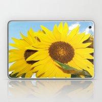 sunflower twins Laptop & iPad Skin