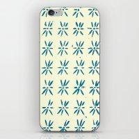 LCD Teal iPhone & iPod Skin