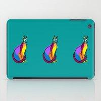 Colorful Cat Hero iPad Case