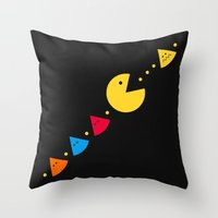 Missing Piece Throw Pillow