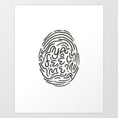 YA FEEL ME? Art Print