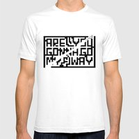 Are You Gonna Go My Way Mens Fitted Tee White SMALL