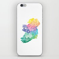 Typographic Ireland iPhone & iPod Skin