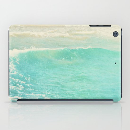 beach ocean wave. Surge. Hermosa Beach photograph iPad Case