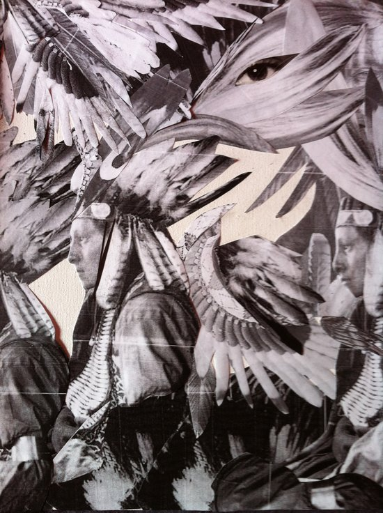 AMERICAN NATIVES Art Print