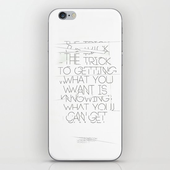 The Trick iPhone & iPod Skin