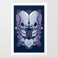 No Love Lost Art Print