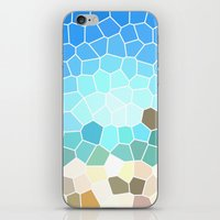 Abstract Geometric Background iPhone & iPod Skin