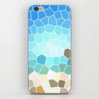 Abstract Geometric Backg… iPhone & iPod Skin