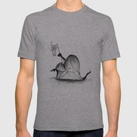Swamp Monster Mens Fitted Tee Athletic Grey SMALL