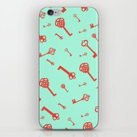 Key Pattern iPhone & iPod Skin