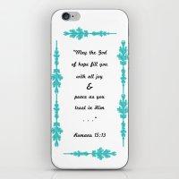 Romans 15:13 iPhone & iPod Skin