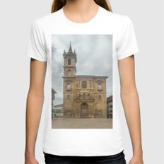 San Isidoro El Real Chur… Womens Fitted Tee White SMALL
