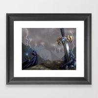 Rising Prophecy Framed Art Print