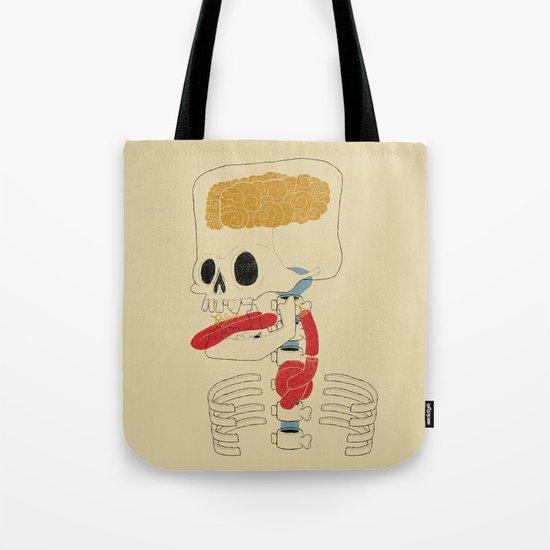 Square Skull...   Tote Bag