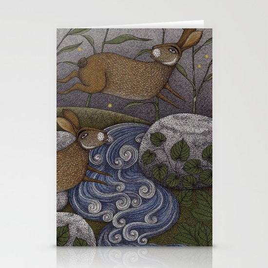 Swamp Rabbit's Reedy River Race Stationery Card