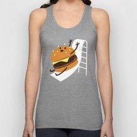 Slider Burger Unisex Tank Top