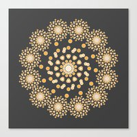 Atom B4 - Grey Canvas Print