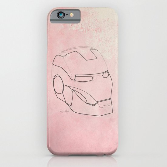 One line Iron Man iPhone & iPod Case