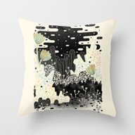 Throw Pillow featuring Into The Unknown... by LordofMasks
