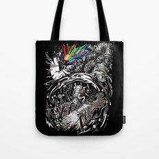 Dark Side of the Rainbow Tote Bag
