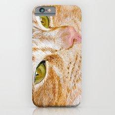 Yellow Cat Slim Case iPhone 6s