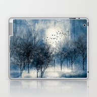 Paisaje Y Color (azul) Laptop & iPad Skin