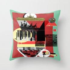 Berlin. Throw Pillow