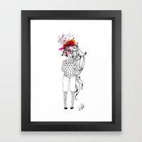 The Tattooed Girl Framed Art Print