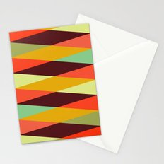 multicolor diamond pattern Stationery Cards