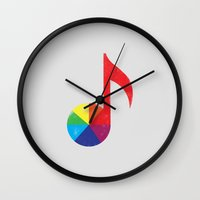 Music Theory Wall Clock