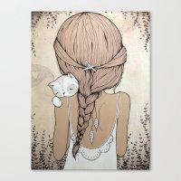 Stay Close Canvas Print