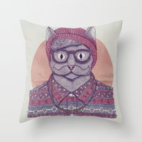 So Hipster Throw Pillow