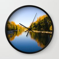 Autumn Reflections - Cal… Wall Clock