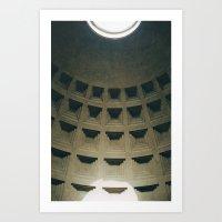 In Rome 1 Art Print