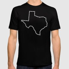Ride Statewide - Texas Mens Fitted Tee Black SMALL