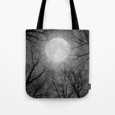 May It Be A Light (Dark Forest Moon) Tote Bag