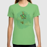 what's next Womens Fitted Tee Grass SMALL